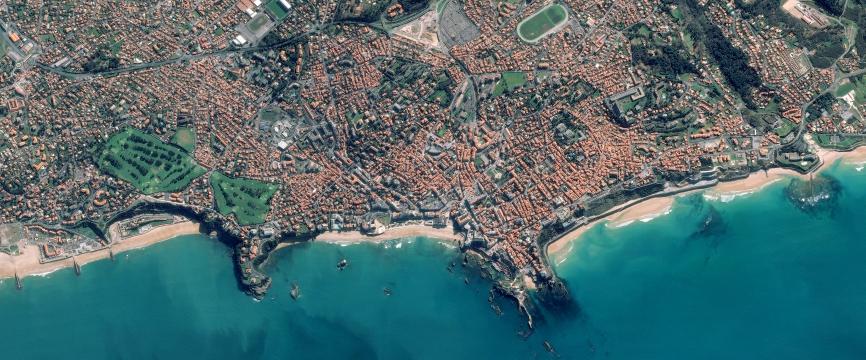 Biarritz : les mutations d'une station balnéaire et touristique atlantique et basque