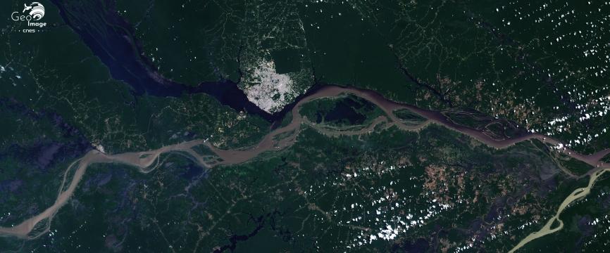 Brésil - Manaus, villes d'eaux au cœur de l'Amazonie