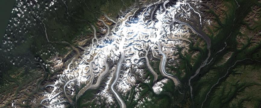 Alaska - Le Mont Denali : glaciers, parc national, wilderness et changement climatique